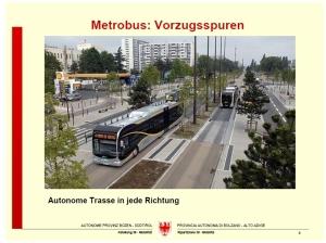 Presentazione Metrobus - Metrobus-Vorstellung