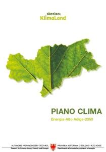 Piano Clima Energia Alto Adige 2050